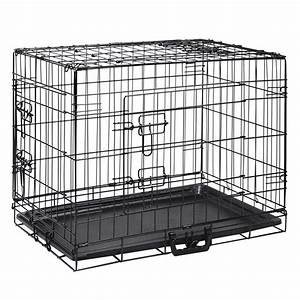 buy foldable pet crate 24inch online in australia With dog cage cost