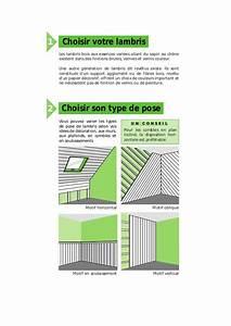 Pose De Lambris Bois : la pose du lambris bois et rev tus ~ Premium-room.com Idées de Décoration