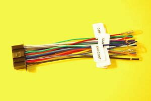 Wire Harness For Kenwood Kvt Includes
