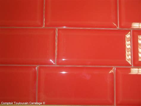 credence cuisine carrelage metro carrelage 10x20 metro blanc noir carrelage 1er choix
