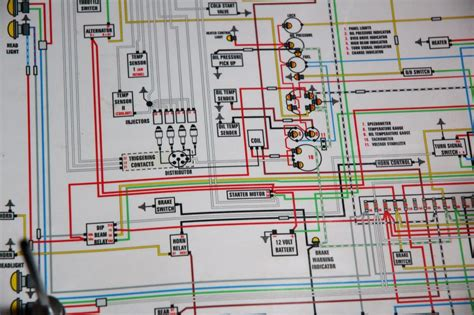garage installing   wiring harness hemmings