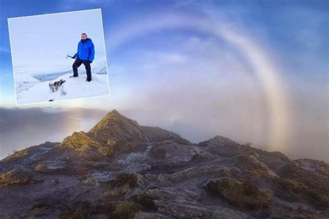 Mountain Climber Captures Rare Weather Double This