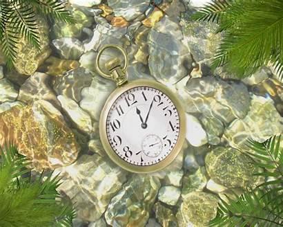 Clock Underwater Animated Desktop Screensaver Wallpapers Working