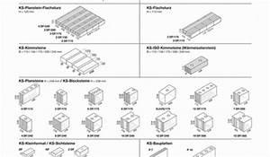 Zapf Garagen Maße : kalksandstein formate in der bersicht zapf daigfuss ~ Markanthonyermac.com Haus und Dekorationen
