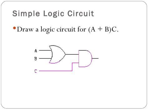 lecture  logicgatesimplelogiccircuit