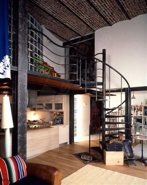 chambre style usine déco loft usine