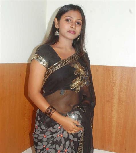 Hot Indian Actress Naval Saree Actress
