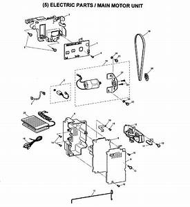 Brother Model Sc9500 Electronic Sewing Machines Genuine Parts