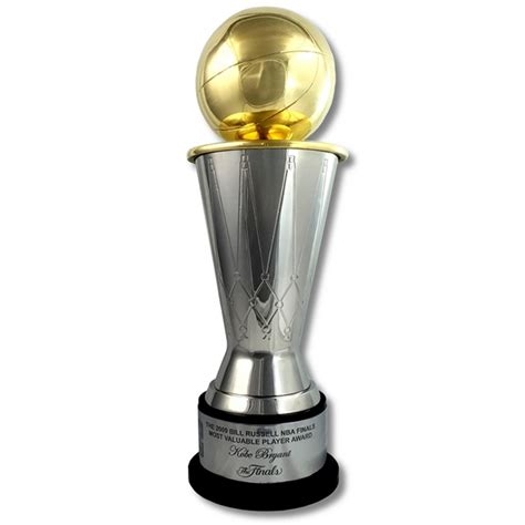 nba finals mvp trophy replica basketball scores