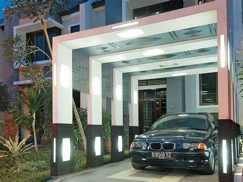 contoh gambar garasi mobil samping rumah  bisa