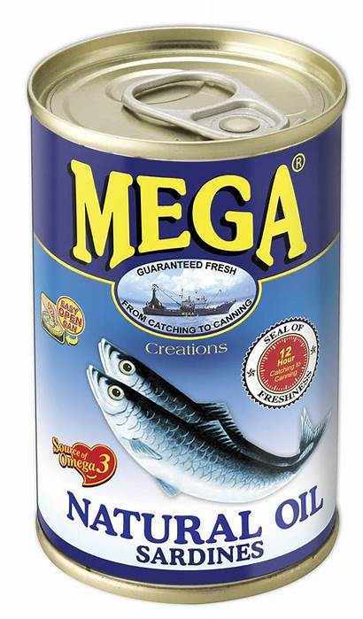 Sardines Oil Mega Natural 155g Ph Oils