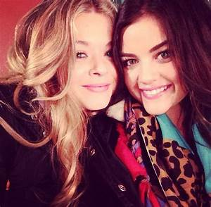 Lucy hale and Ps on Pinterest