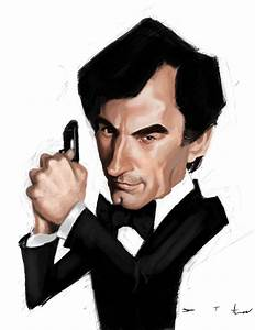 Timothy Dalton 007 by DevonneAmos on DeviantArt