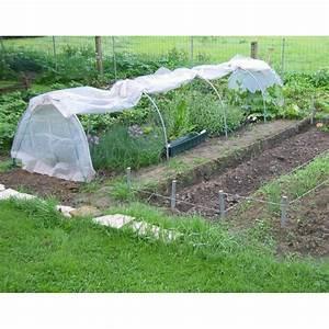 Mini Serre Jardin : serre chenille de jardin 1 3x7 5m en pvc arm 300 microns ~ Premium-room.com Idées de Décoration