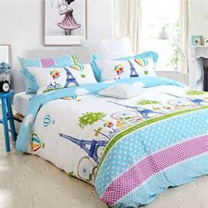 amazon com fadfay home textile girls paris eiffel tower