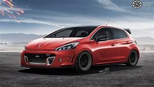 Peugeot 208 Tuning : virtual tuning 123 peugeot 208 2016 photoshop hd ~ Jslefanu.com Haus und Dekorationen