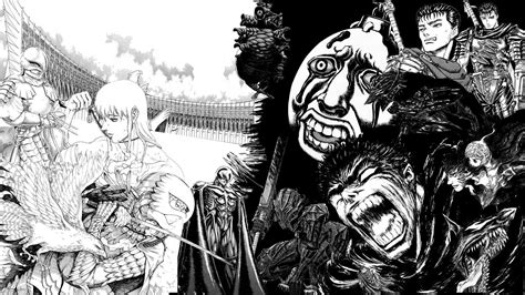 comic kentaro miura berserk guts griffith hd