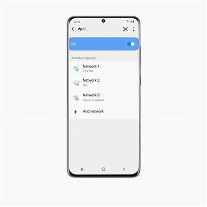 Galaxy S20 Samsung Ui Wifi Password Powerful