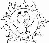 Drawing Sunrise Sun Rise Coloring Rising Pages Drawings Printable Getdrawings sketch template