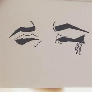 Pin Crying-eyes-drawing-tumblr on Pinterest