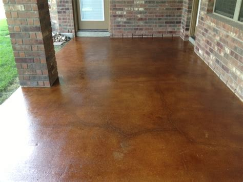 acid staining mvl concretes