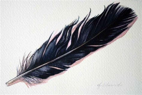 images  tattoos  pinterest raven feather