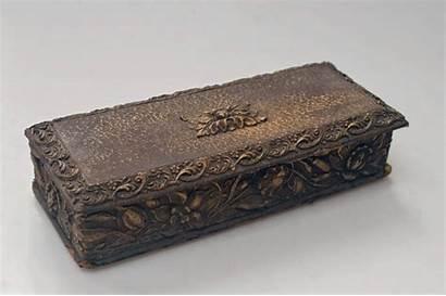 Box Ancient Gloves Glove Antique Swann