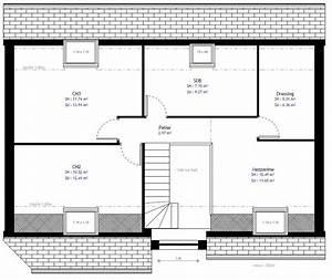 Plan Maison A Etage : plan maison individuelle 3 chambres 74b habitat concept ~ Melissatoandfro.com Idées de Décoration