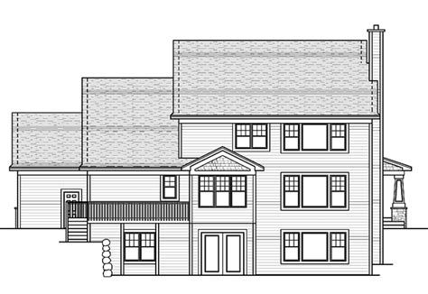 Traditional Style House Plan - 3 Beds 2.5 Baths 3073 Sq/Ft
