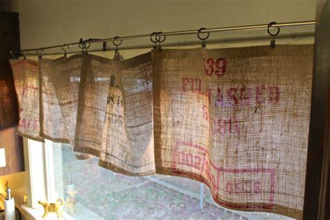 diy kitchen curtain ideas burlap valance 16 unique diy patterns guide patterns