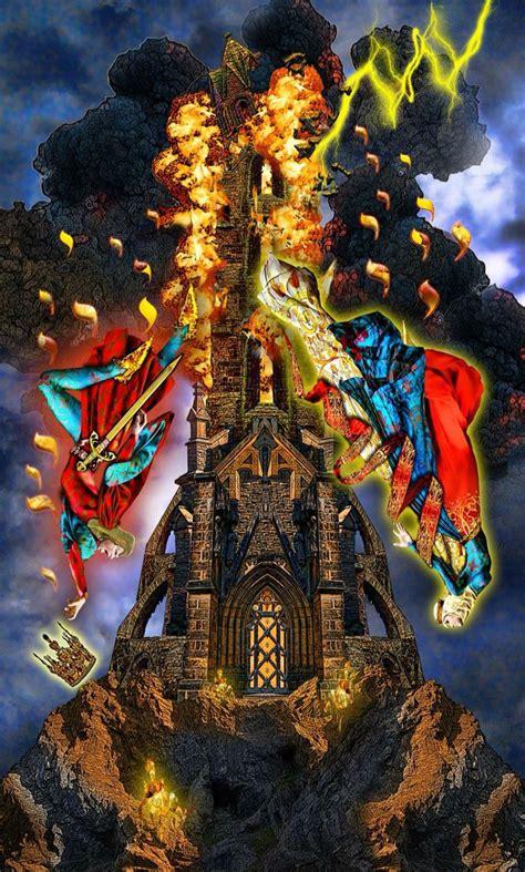 Illuminati Towers The Tower Tarot Illuminati Tarot
