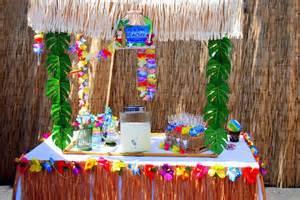 Luau Pool Party Ideas