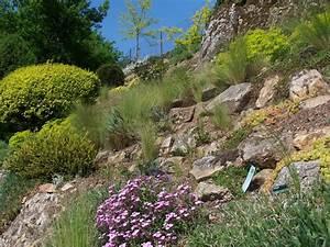 les jardins du gue grande rocaille With awesome escalier jardin en pente 12 les jardins du gue grande rocaille