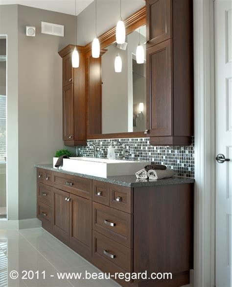 armoire salle de bain armoire de salle bain en m 233 lamine et polyester salle de bain armoires