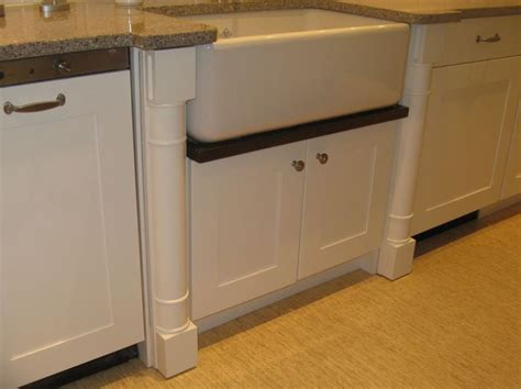 kitchen sink with legs bumped out farmhouse sink with drip rail and quot chair leg 6046