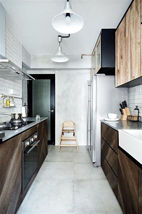 kitchen design ideas  stylish  practical hdb flat