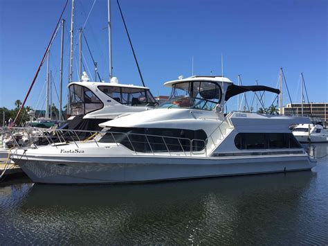 Bluewater Power Boats by 1997 Bluewater Yachts 510 Coastal Cruiser Power Boat For
