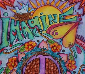 Hippie Room Decorations With Beautiful Mural Art For