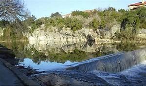 blue san gabriel river georgetown photograph