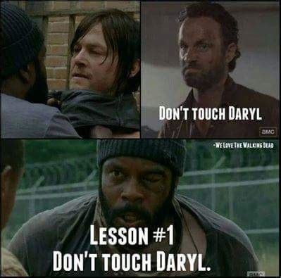 Daryl Dixon Memes - the walking dead meme of the day tanya giaimo