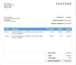 aynax invoice template invoice