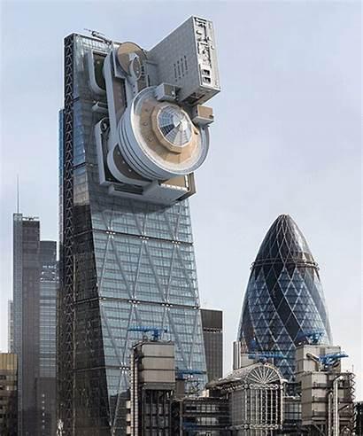 Enrich Guggenheim Building Cheesegrater Victor London Grinds