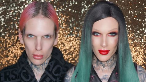 Jeffree Star Before and After Makeup