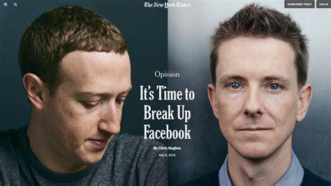 Facebook muss zerschlagen werden – findet einer der ...