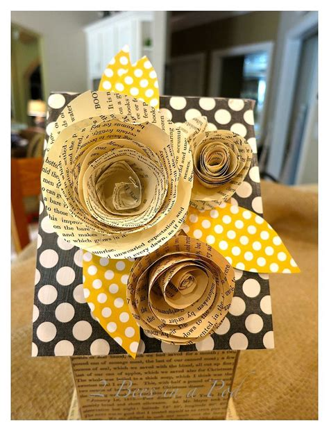hometalk diy birdhouse  vintage book pages