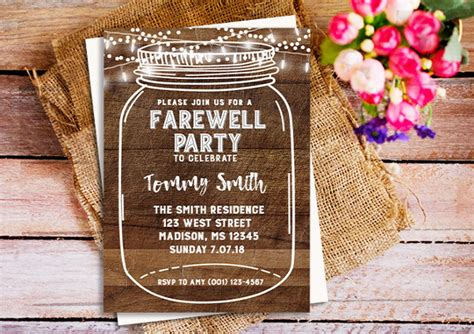 party invitation designs examples psd ai