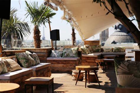 le perchoir bar avec terrasse  paris au bhv marais