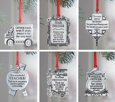 occupational christmas tree ornaments from collections etc