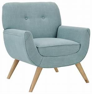 Fauteuil Bleu Scandinave : fauteuil style scandinave bleu ~ Teatrodelosmanantiales.com Idées de Décoration