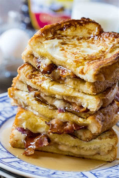 Bacon Stuffed French Toast Spicy Southern Kitchen